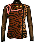 Jamie Sadock Women's Long Sleeve Mesh Top