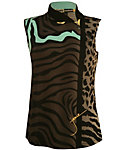 Jamie Sadock Women's Animal Sleeveless Top