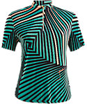 Jamie Sadock Women's Twister Abstract Crunch Top
