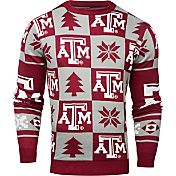 Klew Men's Texas A&M Aggies Maroon Ugly Sweater
