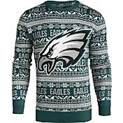 KLEW Men's Philadelphia Eagles Aztech Ugly Sweater