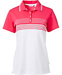 Lady Hagen Women's Bon Voyage Collection Engineered Stripe Polo