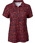 Lady Hagen Women's Monarch Collection Floral Print Polo