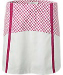 Lady Hagen Sunset Collection Windowpane Block Skort