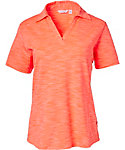 Lady Hagen Women's Essentials Space Dye Polo