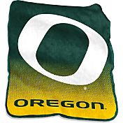 Oregon Ducks Raschel Throw