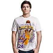 Levelwear Men's Los Angeles Lakers Kobe Bryant Center Court White T-Shirt