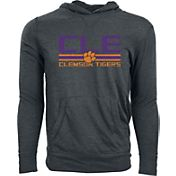 Levelwear Men's Florida State Seminoles Grey Long Sleeve Hooded T-Shirt