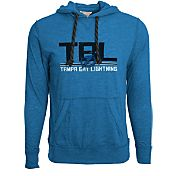 Levelwear Men's Tampa Bay Lightning Scoreboard Royal Hooded T-Shirt