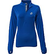 Levelwear Women's Tampa Bay Lightning Pacer Royal Quarter-Zip Shirt