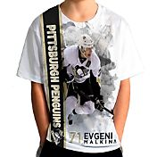 Levelwear Youth Pittsburgh Penguins Evgeni Malkin #71 Breakaway White T-Shirt