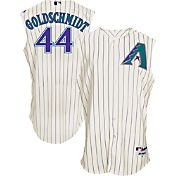 Majestic Men's Arizona Diamondbacks Paul Goldschmidt #44 White Turn Back The Clock Authentic Flex Base Jersey