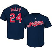Majestic Men's Cleveland Indians Andrew Miller #23 Navy T-Shirt
