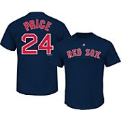 Majestic Men's Boston Red Sox David Price #24 Navy T-Shirt