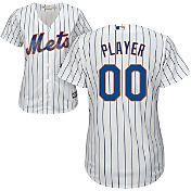 Majestic Women's Full Roster Cool Base Replica New York Mets Home White Jersey