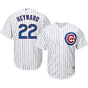 Majestic Youth Replica Chicago Cubs Jason Heyward #22 Cool Base Home White Jersey