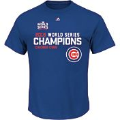Majestic Youth 2016 World Series Champions Roster Chicago Cubs Royal T-Shirt