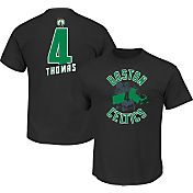 Majestic Youth Boston Celtics Isaiah Thomas #4 Black T-Shirt