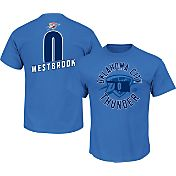 Majestic Youth Oklahoma City Thunder Russell Westbrook #0 Blue T-Shirt
