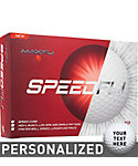 MAXFLI SPEEDFLI Personalized Golf Balls - 12 Pack