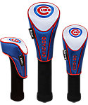 McArthur Sports Chicago Cubs MLB Headcovers - 3 Pack