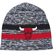 Mitchell & Ness Men's Chicago Bulls Team Stripe Knit Hat