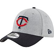 New Era Men's Minnesota Twins 39Thirty Change Up Redux Grey Flex Hat