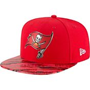 New Era Men's Tampa Bay Buccaneers Color Rush 2016 On-Field 9Fifty Adjustable Hat