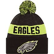 New Era Men's Philadelphia Eagles Sport Cyber Yellow Knit Beanie