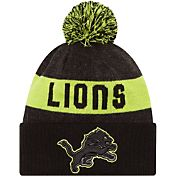 New Era Men's Detroit Lions Sport Cyber Yellow Knit Beanie