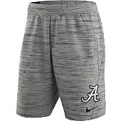 Nike Men's Alabama Crimson Tide Heathered Grey Fleece Basketball Shorts