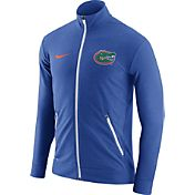 Nike Men's Florida Gators Blue Elite Players Dri-FIT Touch Full-Zip Jacket