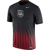Nike Men's Georgia Bulldogs Black/Red New Day Innovation Football T-Shirt