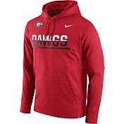 Nike Men's Georgia Bulldogs Red Circuit PO Hoodie