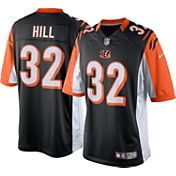 Nike Men's Home Limited Jersey Cincinnati Bengals Jeremy Hill #32