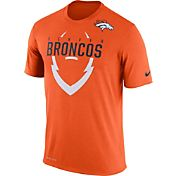 Nike Men's Denver Broncos Legend Icon Orange T-Shirt