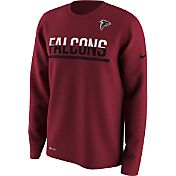 Nike Men's Atlanta Falcons Team Practice Performance Red Long Sleeve Shirt
