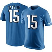 Nike Men's Detroit Lions Golden Tate #15 Pride Blue T-Shirt