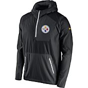 Nike Men's Pittsburgh Steelers Sideline 2016 Vapor Speed Fly Rush Black Jacket