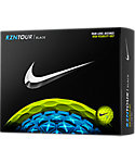 Nike RZN Tour Black Volt Personalized Golf Balls - 12 Pack