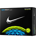 Nike RZN Tour Black Volt Golf Balls - 12 Pack