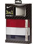 Nike Web Belt - 3 Pack