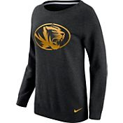 Nike Women's Missouri Tigers Champ Drive Boyfriend Crew Black Sweatshirt