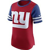 Nike Women's New York Giants Modern Fan Red Short-Sleeve Top