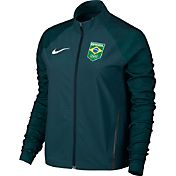 Nike Women's Team Brazil Flex Full Zip Running Jacket