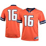 Nike Youth Illinois Fighting Illini #16 Orange Game Football Jersey