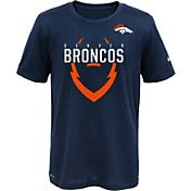 Nike Youth Denver Broncos Sideline 2016 Legend Icon Navy Performance T-Shirt