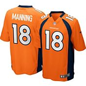 Nike Youth Home Game Jersey Denver Broncos Peyton Manning #18