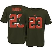 Nike Youth Cleveland Browns Joe Haden #23 Brown T-Shirt