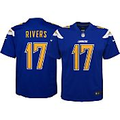 Nike Youth Color Rush 2016 Game Jersey San Diego Chargers Philip Rivers #17
